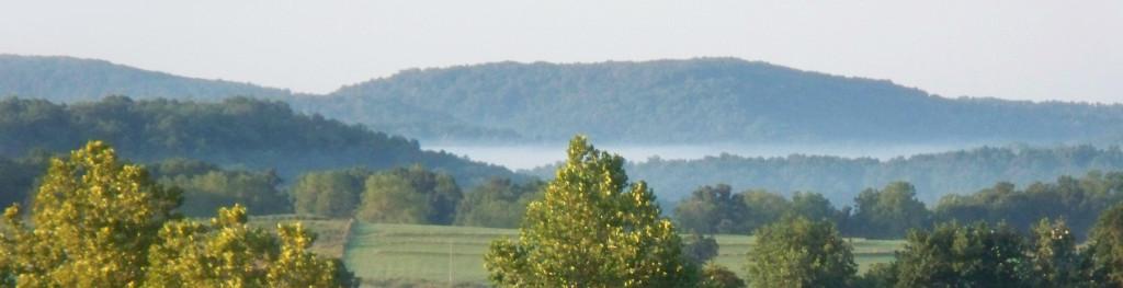 Scene of Arkansas countryside