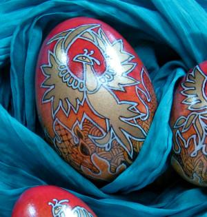 Phoenix egg design