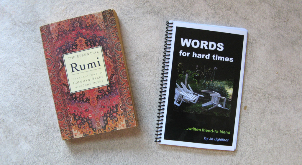 Books by Rumi & Jo Lightfoot