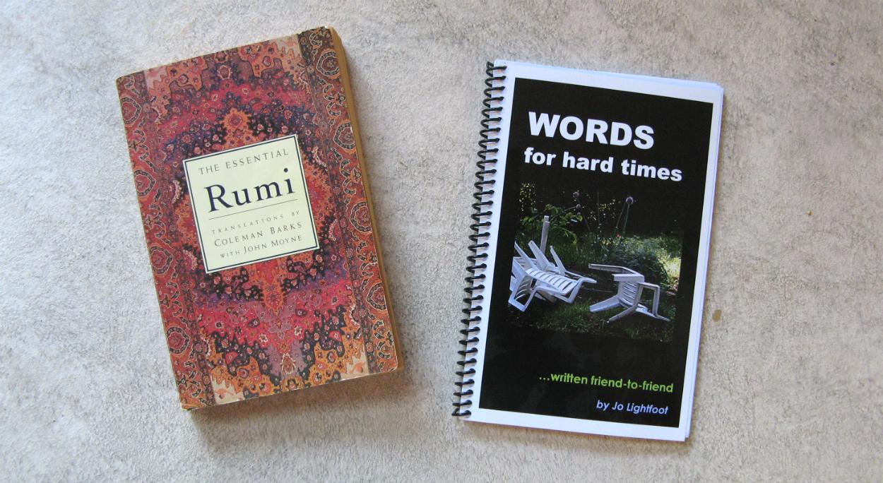 Books by Rumi & Jo Lightfoot