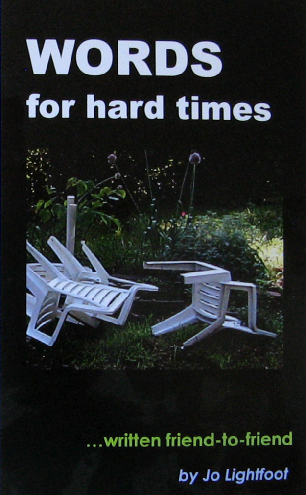 Book Cover: WORDS for Hard Times
