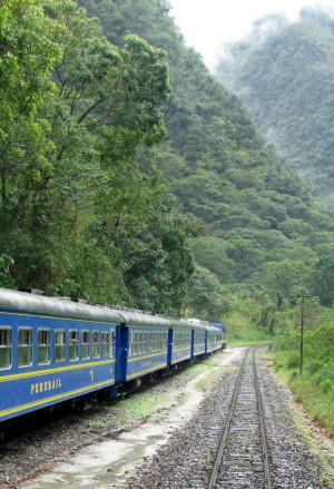 Peru passenger train