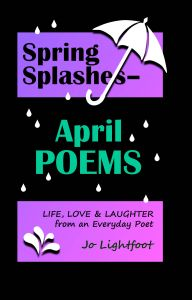 April poems book by Jo Lightfoot