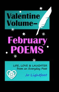 February poems book by Jo Lightfoot