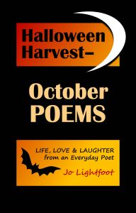 Halloween poems book cover