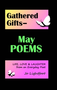May poems book by Jo Lightfoot
